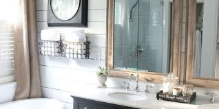 farmhouse bathroom makeover rustic bathroom remodel rustic