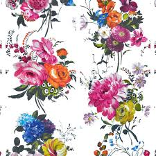 Flower Wallpaper Home Decor Amrapali Peony Wallpaper Designers Guild For The Home