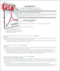 editable resume templates pdf pdf resume template finance marketing resume sle in word doc