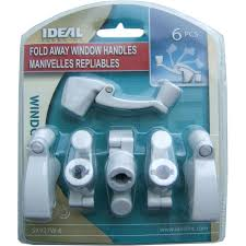 Crank Handles For Windows Decor Ideal Security Fold Away Window Crank Handles In White 6 Pack