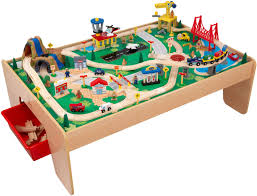 kidkraft train table and set toy train center