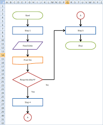 make an interactive flowchart in excel legal design lab