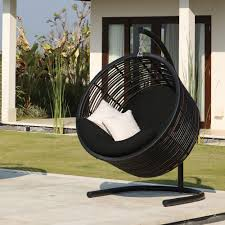 contemporary luxury hanging egg chair bunnings n hanging chair diy
