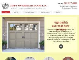 Cedarburg Overhead Door Jiffy Overhead Door Llc Garage Door Port Washington