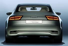 audi brake light audi sportback concept a7 prelude reports motoring