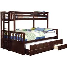 Bunk Beds  Bunk Beds Twin Over Queen With Trundle Bunk Bed Twin - Queen bed with bunk over