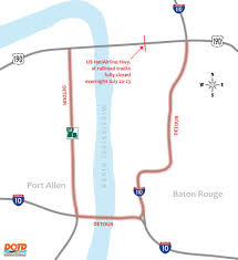 Map Of Road Closures In Louisiana by Portion Of Us 190 Will Be Closed Over The Weekend Katc Com