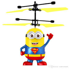 txd colorful led light induction flying aircraft toys rc