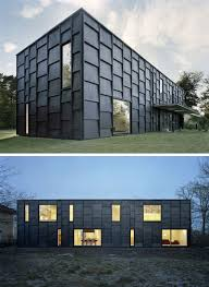 Homes Around The World by House Exterior Colors U2013 14 Modern Black Houses From Around The