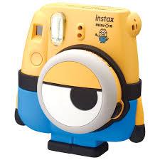 Minion Desk Accessories by Fujifilm Instax Mini 8 Instant Camera Minion Instant Cameras