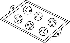 Baking Cookies Tray Coloring Pages Best Place To Color Coloring Cookies