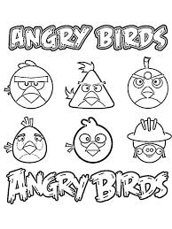 angry birds coloring pages download print angry birds