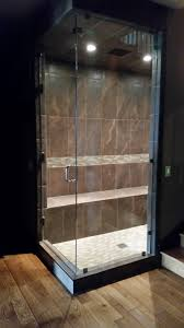 Wood Shower Door shower doors all city glass u0026 windows bozeman mt