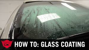 how to apply aquapel glass treatment to your windshield youtube
