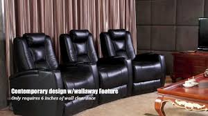 home theater couch fusion collection escape 1019 home theater seating youtube