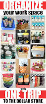 Pinterest Dollar Store Ideas by Organize Your Work Space With One Trip To The Dollar Store Mad