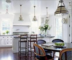 Beadboard KItchen Ceiling Cottage Dining Room Victoria Hagan - Beadboard dining room