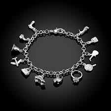 silver plated charm bracelet images Buy yellow chimes sterling silver silver plated charm bracelet jpg