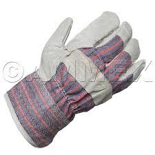 Split Cowhide Ammex Split Cowhide Rubberized Gauntlet Cuff Work Gloves Ammex 816dp