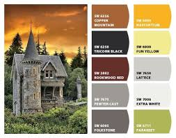 896 best exterior house paint color palettes images on pinterest