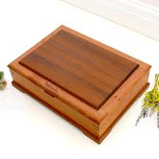 personalized wooden jewelry box personalised wooden jewellery box made from walnut cherry wood