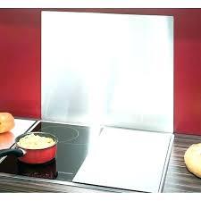 plaque inox cuisine plaque de protection murale pour cuisine drawandpaint co