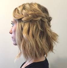 Hochsteckfrisuren Locken Kurze Haare by Die Besten 25 Wasserfall Frisur Ideen Auf Hairstyles