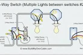 how to wire can lights with two switches wiring diagram