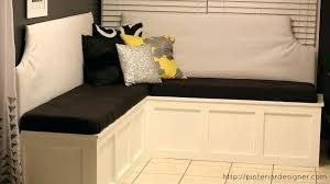 corner bench dining set with storage kitchen table with corner