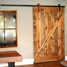 Rustic Barn Door Hardware 5ft sliding barn door hardware black rustic barn door wardrobe