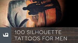 100 silhouette tattoos for