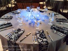 wedding reception linen rental majestic metro 911 preston street