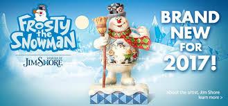 jim shore frosty snowman enesco gift enesco business