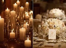 centerpieces with candles 55 winter wedding candles ideas happywedd