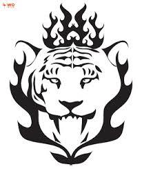 tribal tiger tattoos art design tigers pinterest tribal