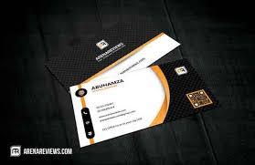 minimal business card template psd free psd business card