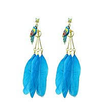 one side feather earring buy earrings for women online in pakistan daraz pk