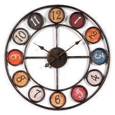 livingroom club homingdeco 24 inch creative living room wall clock vintage