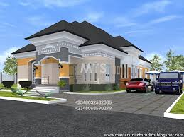 4 Bedroom Bungalow Floor Plans by Nigerian House Plan 4 Bedroom Bungalow 4 Bedrooms Bungalow Design