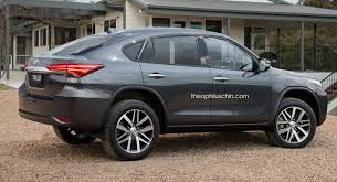 toyota new suv car new toyota fortuner transformed into a bmw x6 like coupe suv carscoops