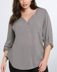 chiffon blouses for gray v neck chiffon blouses for trumpet sleeve top