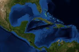 Central America And Caribbean Map by Central America And The Caribbean Satellite Map Full Size