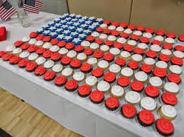 Flag Cakes Cakes By Angel Eagle Scout Court Of Honor Flag Cupcakes