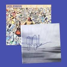 jack johnson all the light above it too jack johnson signed autographed cd booklet w 1 cd all the light