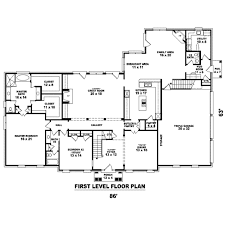 colonial style house plan 4 beds 4 00 baths 5112 sq ft plan 81 1653