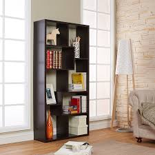 amazon com iohomes modern backless display stand bookcase walnut