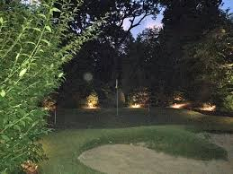 backyard putting green lighting long island backyard lighting outdoor lighting perspectives of