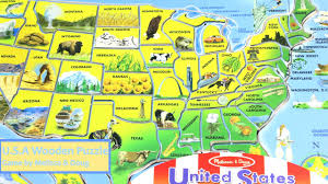 Map Puzzle Usa by U S A Wooden Puzzle Game By Melissa U0026 Doug 3797 Youtube