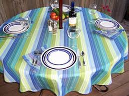 Tablecloth For Umbrella Patio Table Patio Table Tablecloths