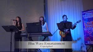 blue moose wedding band blue wave wedding live band melaka malaysia 3pcs live band 海港